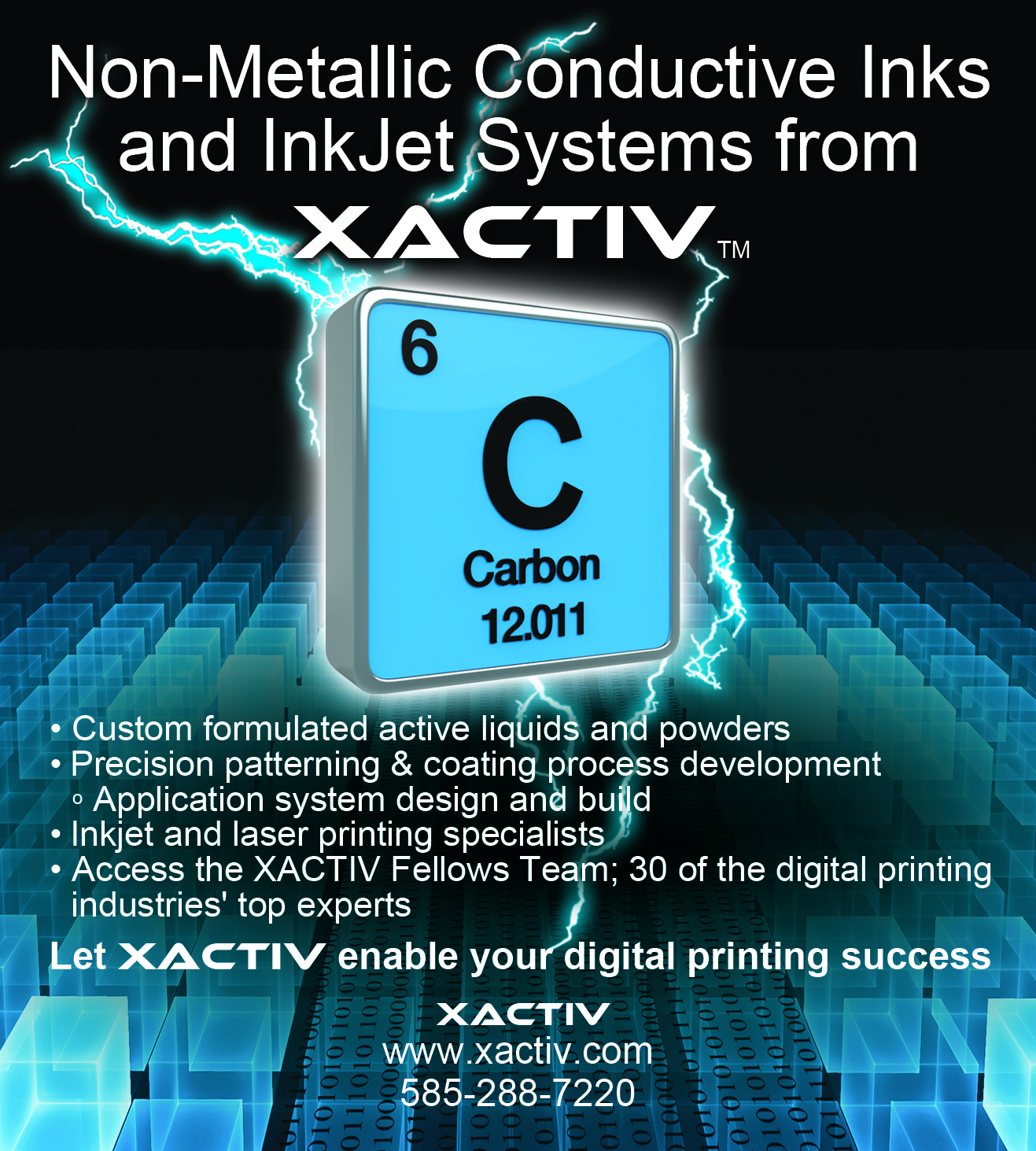 XACTIV INK World magazine